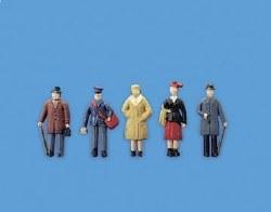 Passengers Standing Set B