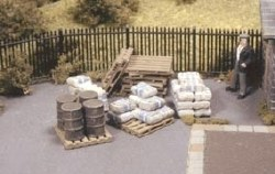 Pack of Assorted Pallets Sacks and Barrels