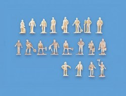 Unpainted Figures Set A