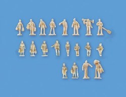 Unpainted Figures Set B