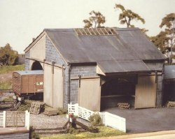 Stone Goods Shed 155mmx170mm