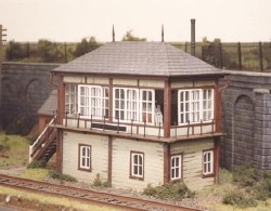 Midland Signal Box 130mmx50mm