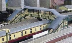 Modular Covered Footbridge