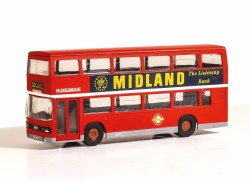 Leyland Olympian Double Deck Bus Kit - London Buses, Riverside Livery