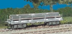 GWR Bogie Bolster 'A' with girder load