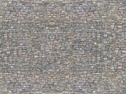 Quarry Stone Wall 3D Cardboard Sheet 25 x 12.5cm
