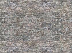 Quarry Stone Wall 3D Cardboard Sheet 25 x 12.5cm