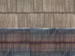 Timber Wall 3D Cardboard Sheet 25 x 12.5cm