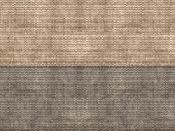 Plain Tiles Grey 3D Cardboard Sheet 25 x 12.5cm