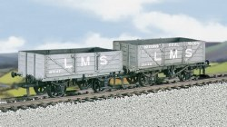 LMS Traffic Coal/4-Plank Wagons M/W B/B