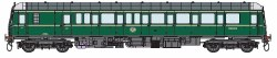 Class 122 55000 BR Green with Small  Yellow Panel DCC Fitted