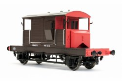 Brake Van SR Brown / Red Small Letters Uneven Plank S56371