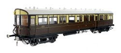 Autocoach GWR Lined Chocolate & Cream 40