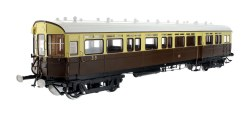 Autocoach GWR Chocolate & Cream Twin City 39