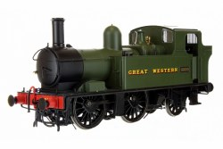 48xx Class GWR Great Western Green 4800 Auto fitted
