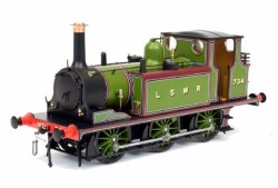 Terrier A1 734 LSWR Green