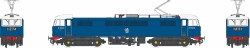Class 86/0 BR Blue E3104 with red bufferbeams – as built