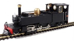 Lynton and Barnstaple Manning Wardle Plain Black 190 'Lyd' New Build
