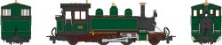 Baldwin 2-4-2T Lyn L&BR dark green (1906-22)