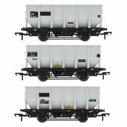 BR 24.5T HOP24/HUO Coal Hopper - Grey pre TOPS- Pack P