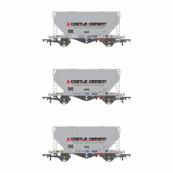 PCA VTG Castle Cement Pack P (3 Wagon Pack)