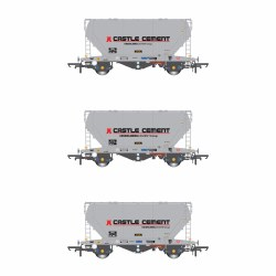 PCA VTG Castle Cement Pack R (3 Wagon Pack)