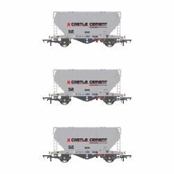 PCA VTG Castle Cement Pack S (3 Wagon Pack)
