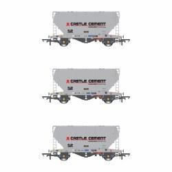 PCA VTG Castle Cement Pack U (3 Wagon Pack)