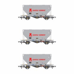 PCA VTG Castle Cement (Early) Pack W (3 Wagon Pack)