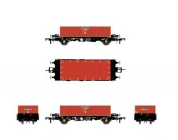 PFA - DRS LLNW - Nuclear Half Height Container Wagon Pack
