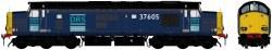 Class 37/6 37605 DRS Blue
