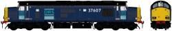 Class 37/6 37607 DRS Blue