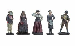 Steampunk Passengers Standing Pack 2 (5)
