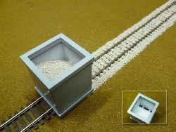 Ballast Spreader HO/OO Scale