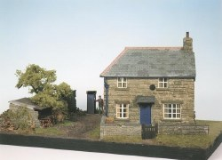 Farm Cottage Scene