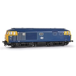 Class 35 'Hymek' 7016 BR Blue Full Yellow End With Data Panel