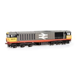 Class 58 58011 BR Railfreight (Red Stripe) [W - faded paint and logos]