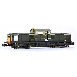 Class 17 D8594 BR Green (Small Yellow Panels)
