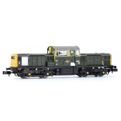 Class 17 8601 BR Green (Full Yellow Ends)