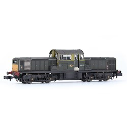 Class 17 D8511 BR Green (Small Yellow Panels) [W]