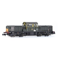 Class 17 D8600 BR Green (Small Yellow Panels) [W]