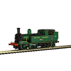 LSWR Adams 02 31 'Chale' BR (Ex-SR) Malachite Green (British Railways)