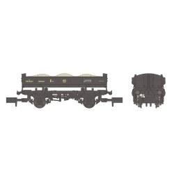 14T 'Mermaid' Side Tipping Ballast Wagon BR Departmental Black