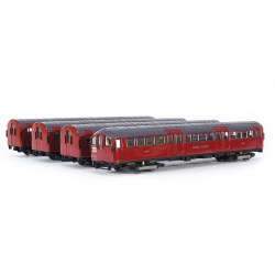 London Underground 1938 Tube Stock, 4-Car Motorised Train - 1960s Northern Line Set