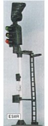 3 Aspect Home Signal with RT Indicator Kit RH Round Head