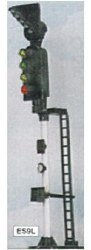 4 Aspect Section Signal with RT Indicator LH Round Head