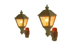 Wall Mounted Gas Lamps GWR Stone (2)