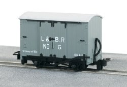 Lynton and Barnstaple Railway Livery Box Van No 6