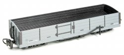 8 Ton Bogie Open Wagon Grey Unlettered