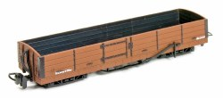 8 Ton Bogie Open Wagon Brown Unlettered